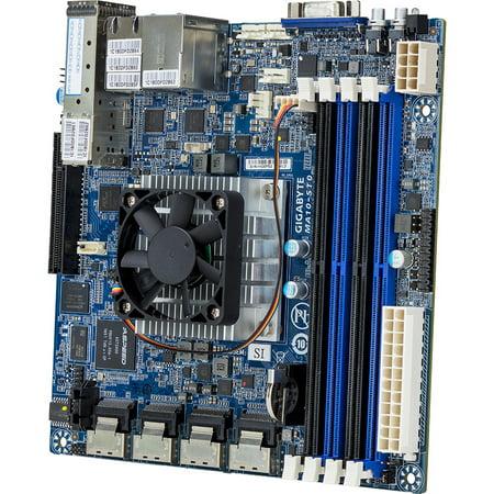 Gigabyte MA10-ST0 Server Motherboard - Intel Chipset - Socket BGA-1310 -  Intel Atom C3958 Hexadeca-core [16 Core] 2 GHz (207421)