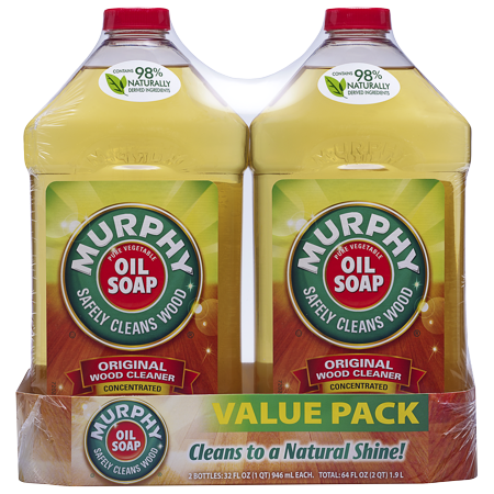 Murphy's Oil Soap Squirt & Mop Hardwood Floor Cleaner - 32 fl oz (2 Count)