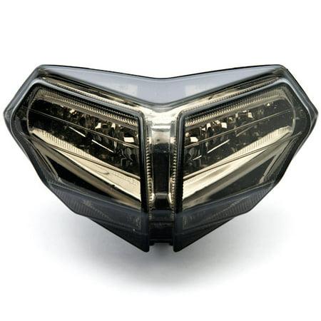 Kapsco Moto Smoke LED Tail Light Integrated with Turn Signals For 2008-2009 Ducati 848 / EVO / Corse SE - image 4 of 4