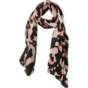 Cejon Accessories Womens Leopard Print Crinkle Wrap One Size Blush pink multi