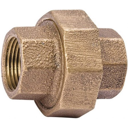 Southland 459 Pipe Union, 1-1/4 Inch, NPT, 125 psi, Red Brass, -20 to 400 deg (Southlands Center)