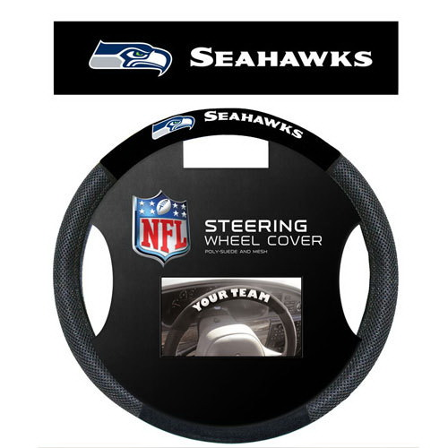 Fremont Die Seattle Seahawks Steering Wheel Cover - Mesh