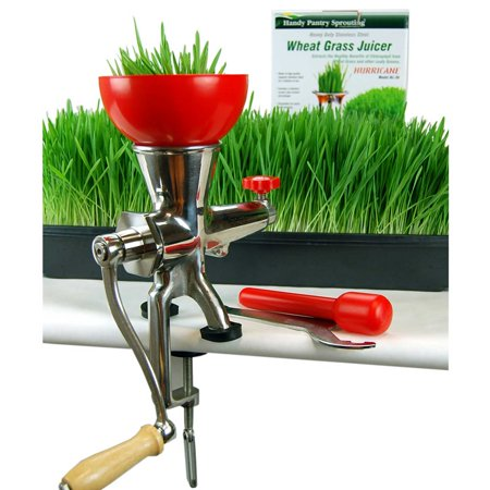 Handy Pantry Tornado Stainless Steel Wheatgrass Juicer - BL-27 Manual Wheat Grass Juice