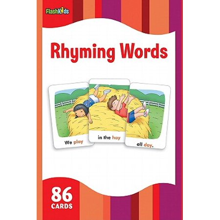 Rhyming Words (Flash Kids Flash Cards) - Halloween Words That Rhyme
