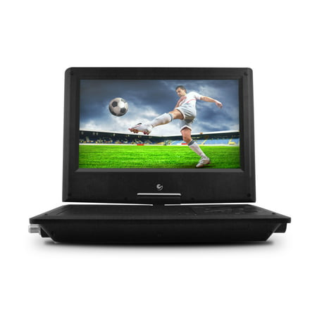 Ematic 9 Portable Dvd Player With Tv Tuner And Bluetooth Black