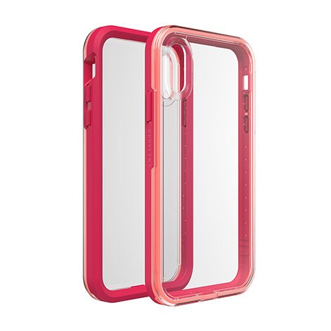 LifeProof Slam Series Case for iPhone XR, Coral Sunset