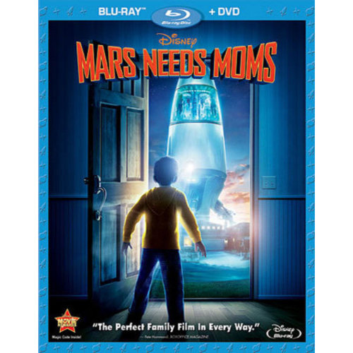 Mars Needs Moms (Blu-ray   DVD) (Widescreen)