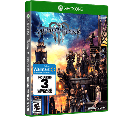 Walmart Exclusive: Kingdom Hearts 3, Square Enix, Xbox One, (Kingdom Hearts 2 Codes For Action Replay)