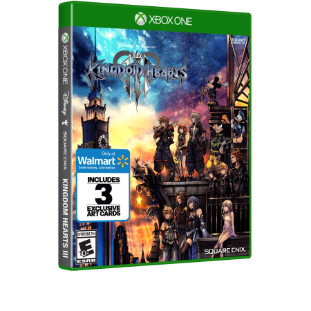 Walmart Exclusive: Kingdom Hearts 3, Square Enix, Xbox One, (Kingdom Hearts Dream Drop Distance Cia Usa)