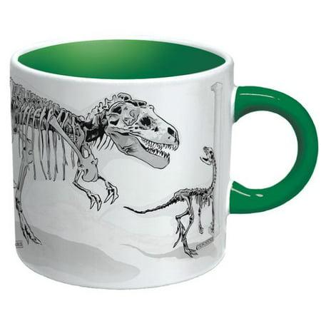 Unemployed Philosophers Guild Dinosaur Heat Reactive Mug