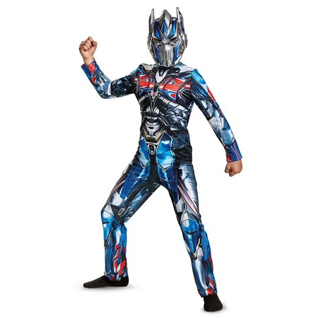 Transformers Optimus Prime Child Halloween Costume, One Size, L (10-12) for $<!---->
