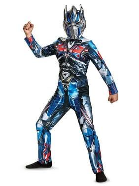 Transformers Optimus Prime Child Halloween Costume, One Size, L (10-12)