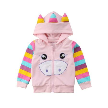 Toddler Kids Girls Baby Piglet Wing Hoodies Toddler Hoody Sweatshirt Jacket Coat Ciao Baby Hoodies