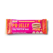 UNiTE Food High Protein Bar, Peanut Butter & Jelly PB&J Flavor, Gluten Free, Dairy Free, Soy Free, High Fiber, All Natural, 1.58 oz bar (12 Pack)