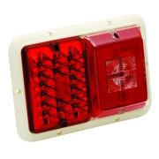 Bargman Trailer Lights 47-84-001 Trailer Light Recessed For 84 85 Series Double