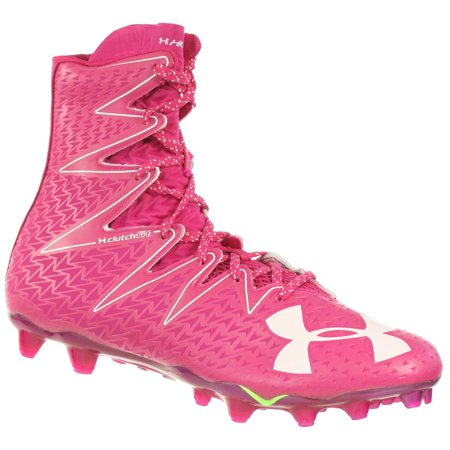 65ddb9a4b17 Under Armour - UNDER ARMOUR MEN S FOOTBALL CLEATS HIGHLIGHT MC LE PINK  WHITE 12 M - Walmart.com