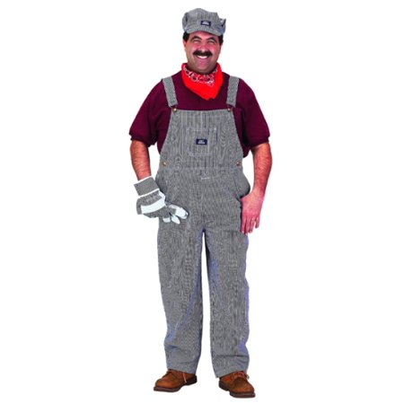 Adult Train Engineer Costume With Cap](Oregon Trail Costume)