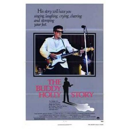 Posterazzi MOV192818 The Buddy Holly Story Movie Poster - 11 x 17 (Buddy The Buddy Holly Story August 11)