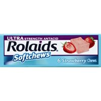 Rolaids Antacid Softchews Strawberry 6 ct.