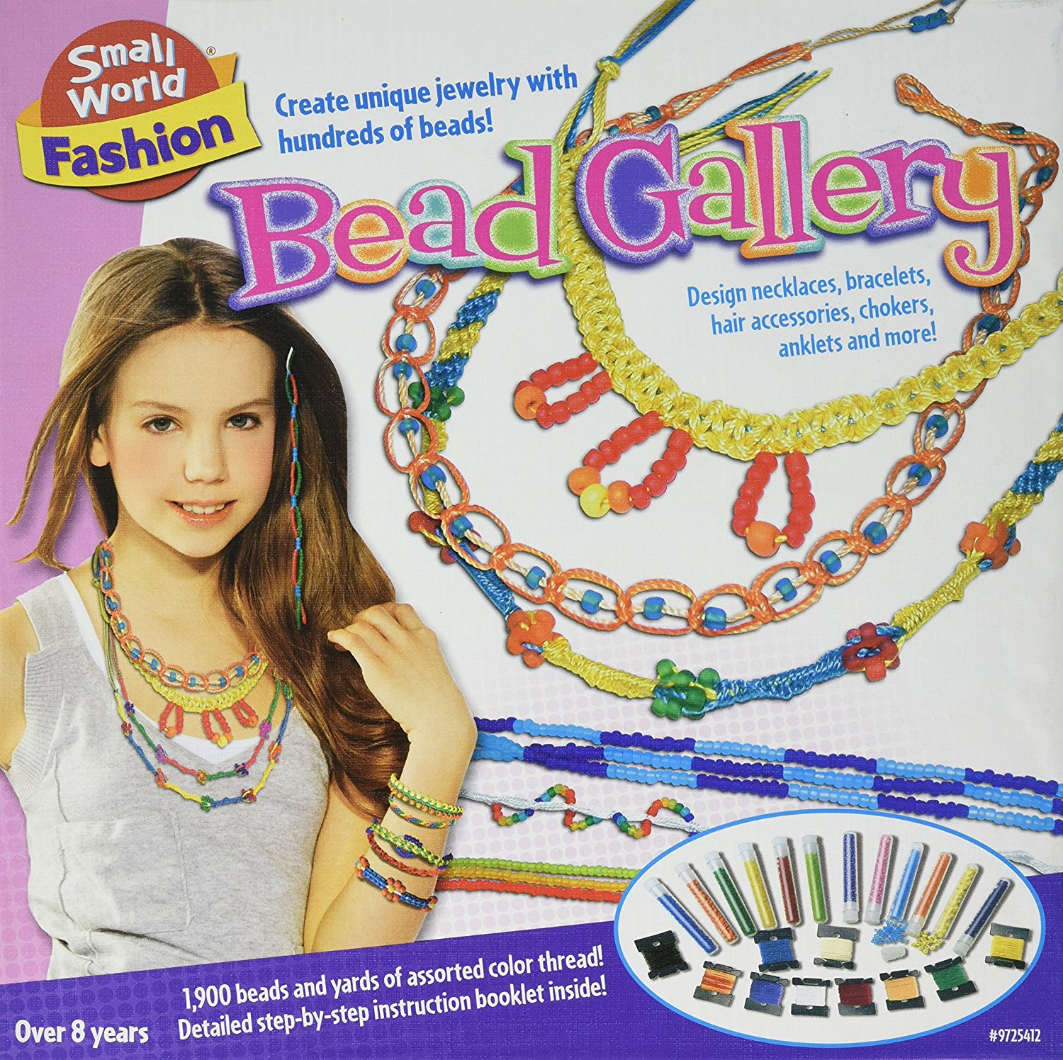 Small World Toys Fashion Bead Gallery Craft Kit by