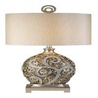 SILVER VINE TABLE LAMP