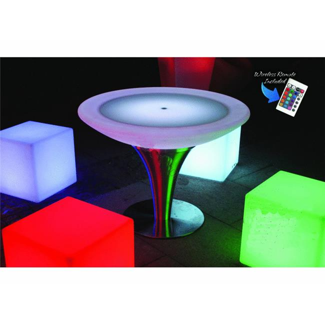 Main Access 131788 South Beach Led Table with Remote
