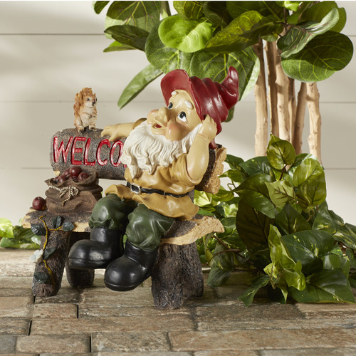 Zingz & Thingz Welcoming Garden Gnome Statue by Zingz & Thingz