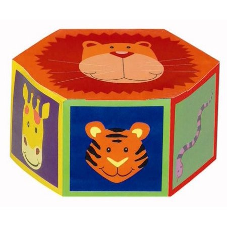 Jungle Animals Favor Boxes (6ct)