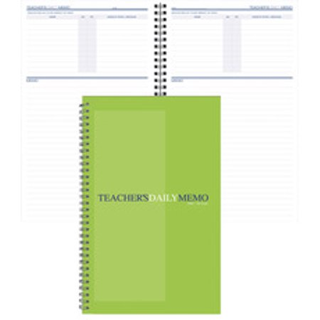 Daily Memo Book, 5-7/8 x 9-3/8 Inches, - 938 Green