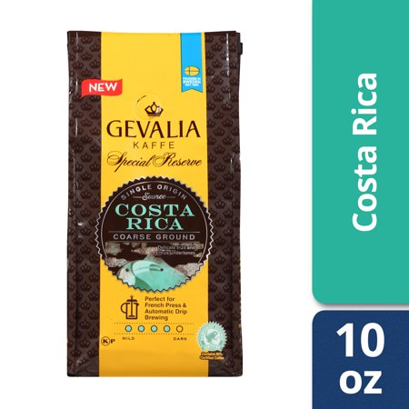 Gevalia Costa Rica Ground Coffee, Caffeinated, 10 oz