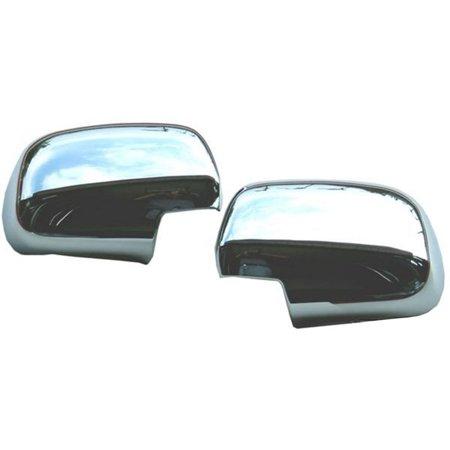 Putco 402029 Mirror Cover For Toyota Land Cruiser, Chrome Cruiser Chrome Mirror Covers