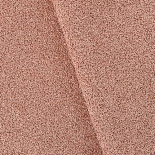 Blush Coral Pink Texture Boucle Home Decorating Fabric