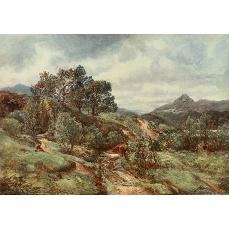 Royal Scottish Academy 1907 Ben Venue Canvas Art - Alexander Fraser (18 x 24)
