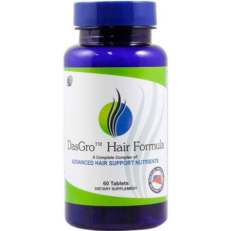 DasGro Hair Growth Vitamins, Biotin & DHT Blocker, Stops Hair Loss, Thinning, Balding, Promotes Hair Regrowth in Men & Women, All Hair Types, 30 Day (Best Vitamins To Stop Hair Loss)