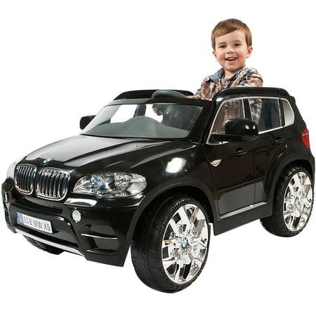 Rollplay BMW X5 6 Volt Battery-Powered Children's Ride-On (Avigo 6v Bmw X5 Black With Remote)