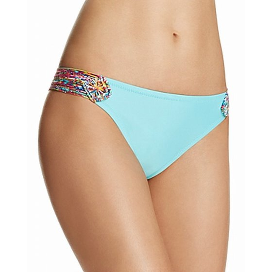 Profile Blush by Gottex Womens Large Swim Bikini Bottom
