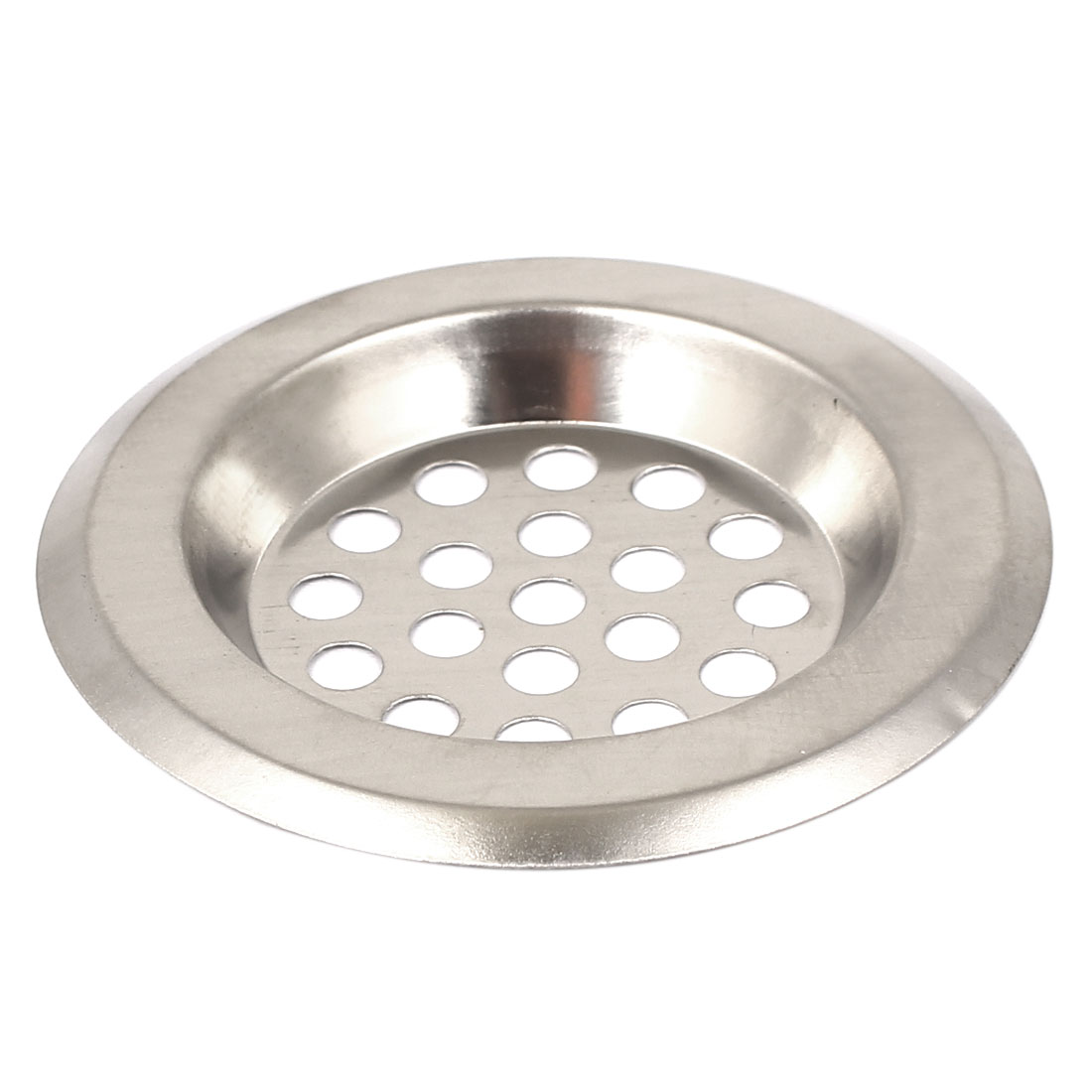 how to clean metal sink strainer
