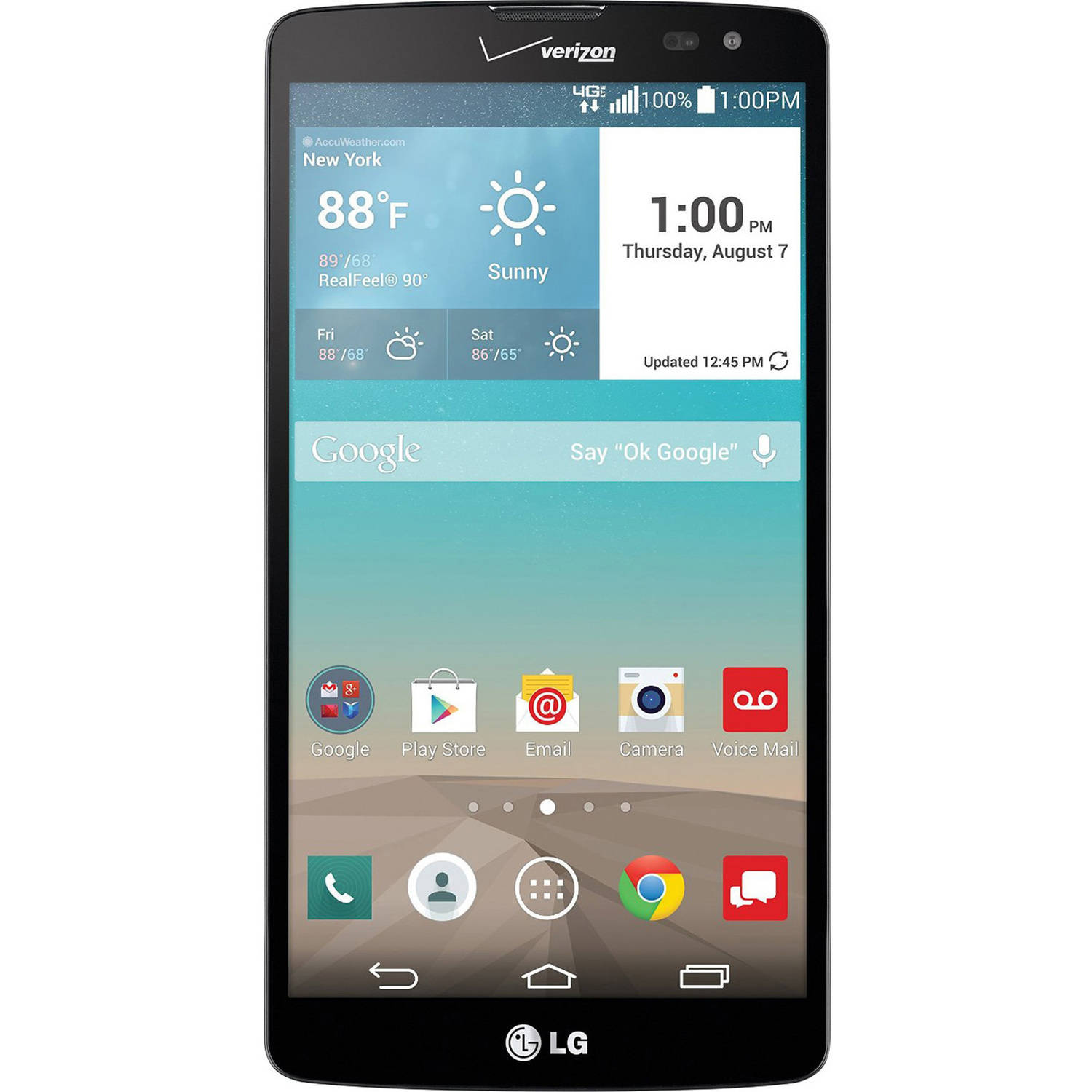 Verizon LG G Vista VS880 4G LTE Android Smartphone (Unlocked)