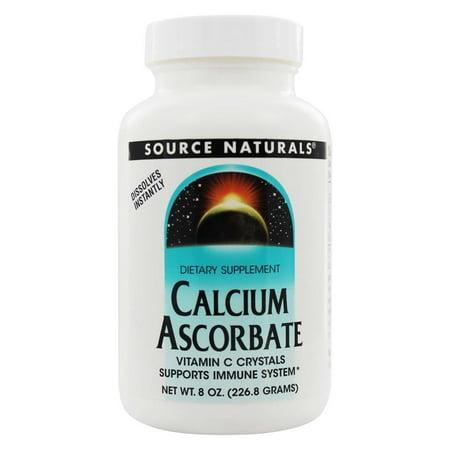 Calcium Ascorbate Buffered (Source Naturals Source Naturals  Calcium Ascorbate, 8 oz)