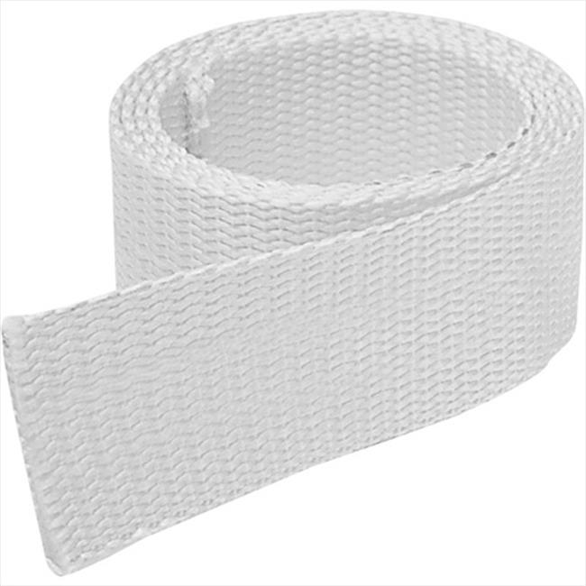 TEK SUPPLY 109622 Batten Tape, Fence Strapping 4 in White