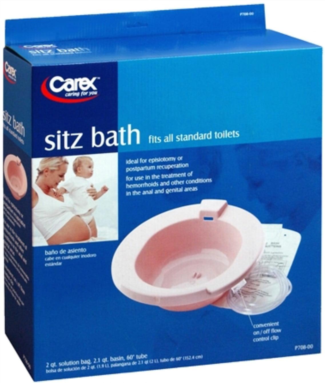 Carex Sitz Bath P708-00 1 Each - Walmart.com