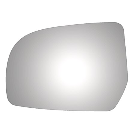 Subaru Outback Engines - Burco 4377 Driver Side Replacement Mirror Glass for 10-14 Subaru Legacy, Outback