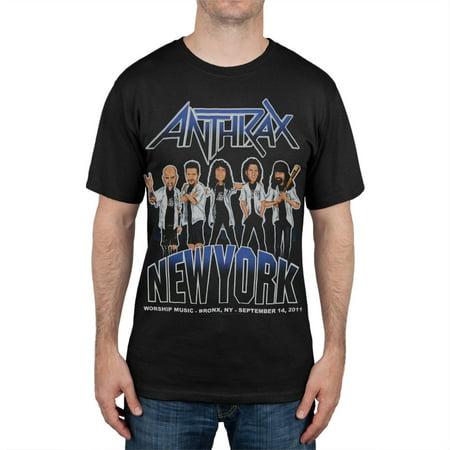 Anthrax - New York Event T-Shirt