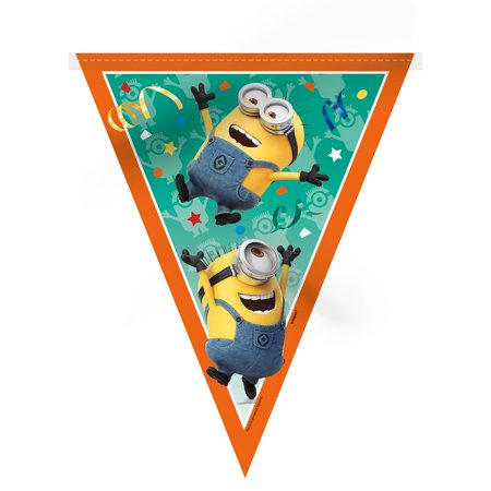 The Minions 7-Piece Decoration Kit](Minion Birthday Decorations)