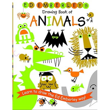 Ed Emberley's Drawing Book of Animals](Drawings Of Black Cats For Halloween)