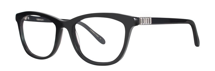 Vera Wang FRIGG Black Eyeglasses Size51-16-133.00