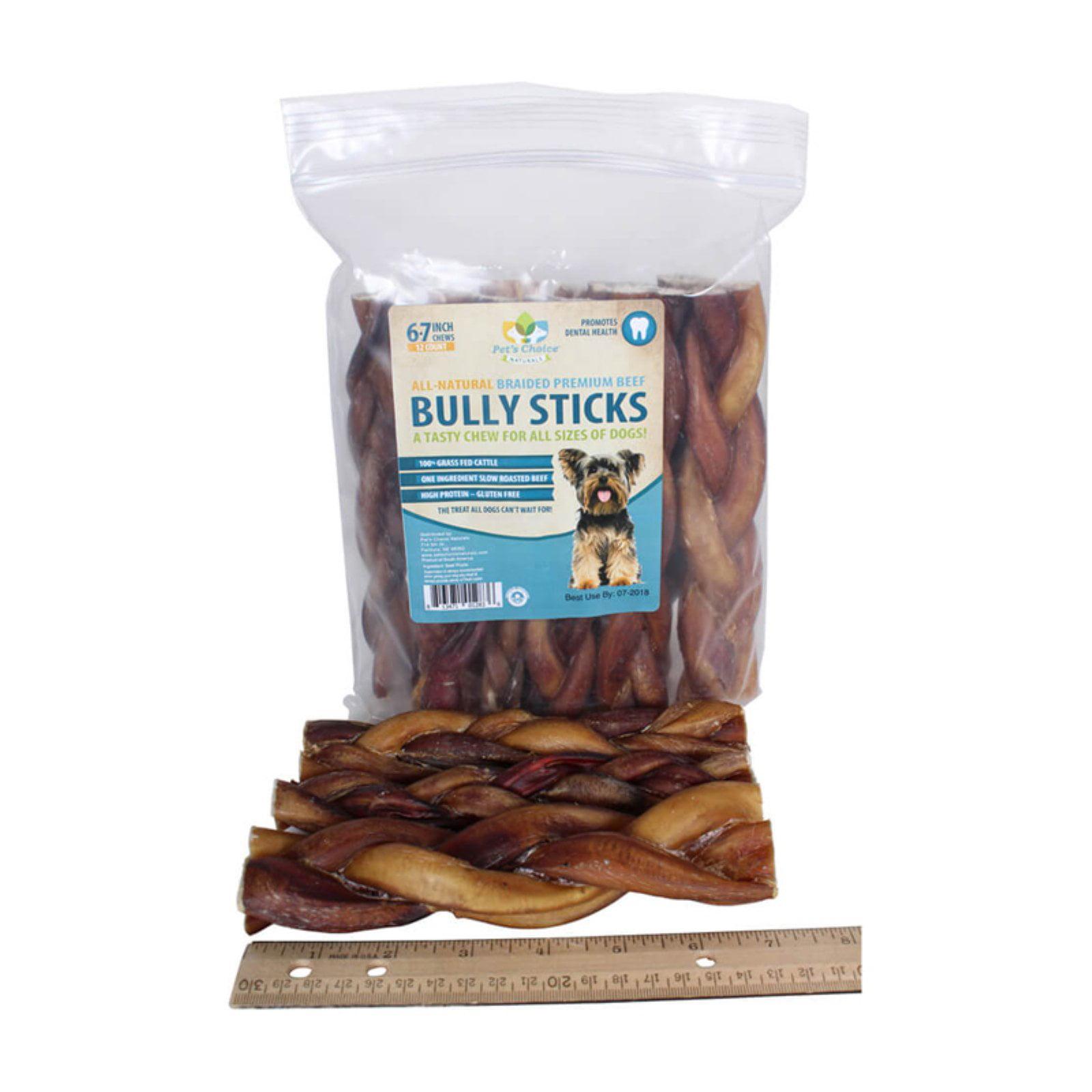 Pets Choice Bully Braided Chew Treat
