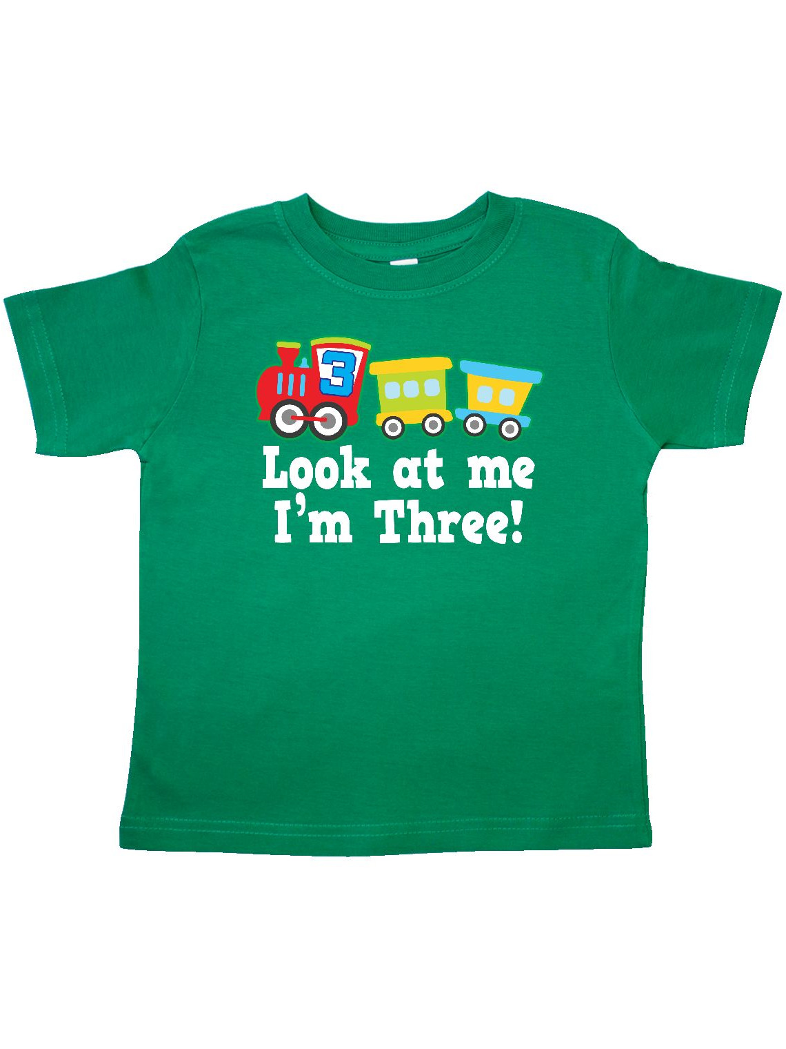 3rd Birthday Train Outfit Toddler T-Shirt