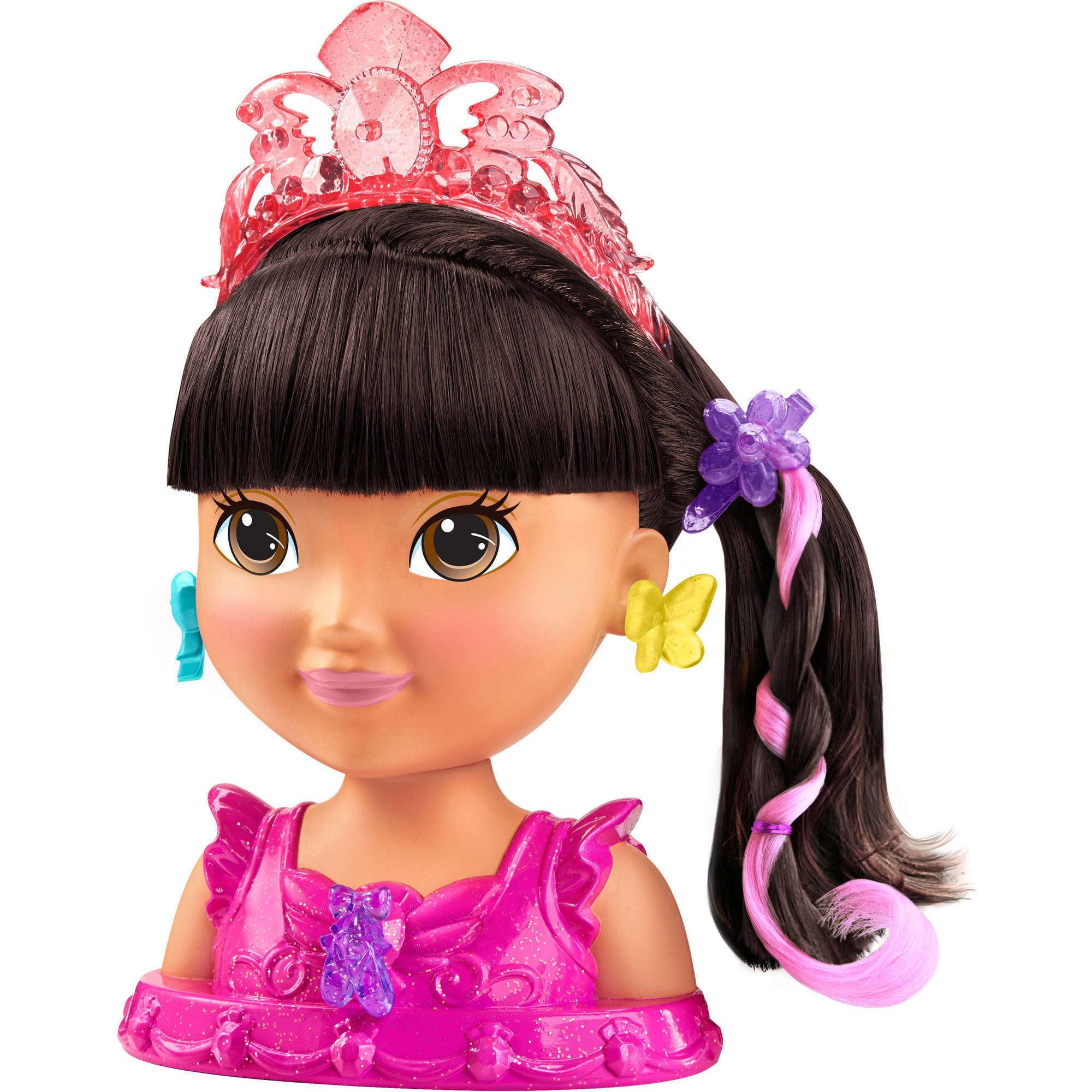 Nickelodeon Dora and Friends Ballerina Styling Head, Dora by Mattel
