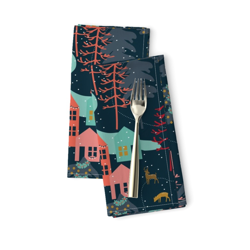 Winter Woodland assorted napkins